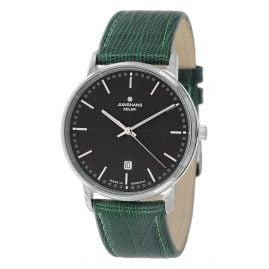 Junghans 014/406-Teju Men's Wristwatch with 2 Leather Straps Milano Solar