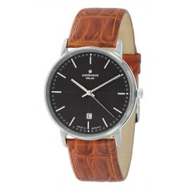 Junghans 014/4060-Gold-Brown Men's Watch with 2 Leather Straps Milano Solar