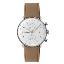 Junghans 027/4502.00 max bill Chronoscope Herrenuhr