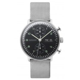 Junghans 027/4500.44 max bill Chronoscope Herrenuhr