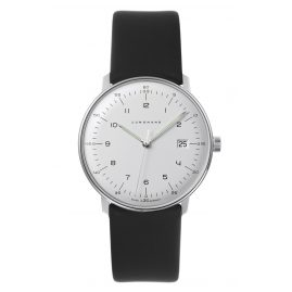 Junghans 041/446-Nappa max bill Quartz Men's Watch with 2 Leather Straps