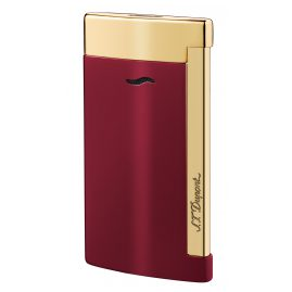 S.T. Dupont 027707 Lighter Slim 7 Rouge & Doré