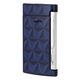 S.T. Dupont 027727 Lighter Slim 7 Graphic Blue