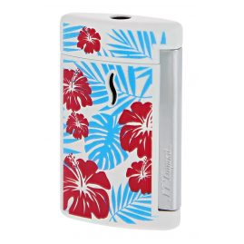 S.T. Dupont 010533 Lighter Minijet Hawaii Torch Flame White