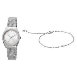 Esprit ES1L100M0055 Damenuhr-Set mit Armband Slice Dot