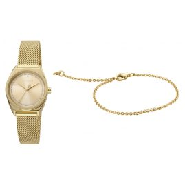 Esprit ES1L100M0065 Women's Watch Set with Bracelet Slice Dot