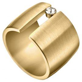 Esprit ESRG001423 Damenring Laurel Goldfarben