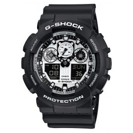 Casio GA-100BW-1AER G-Shock Mens Wrist Watch