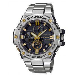 Casio GST-B100D-1A9ER G-Shock Bluetooth Solar-Chronograph G-Steel