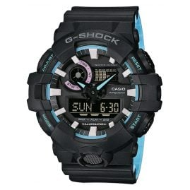 Casio GA-700PC-1AER G-Shock AnaDigi Mens Watch