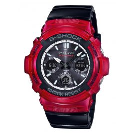Casio AWG-M100SRB-4AER G-Shock Solar Radio-Controlled Wristwatch