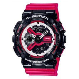 Casio GA-110RB-1AER G-Shock Armbanduhr mit Digitaler und Analoger Anzeige