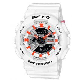 Casio BA-110PP-7A2ER Baby-G Armbanduhr Weiß