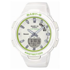 Casio BSA-B100SC-7AER Baby-G Damenuhr mit Schrittzähler