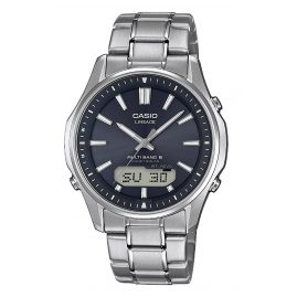 Casio LCW-M100TSE-1AER Men´s Watch Radio-Controlled Solar Titanium