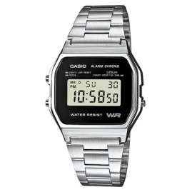 Casio A158WEA-1EF Alarm Chrono Digital Watch