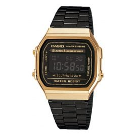 Casio A168WEGB-1BEF Collection Unisex Watch