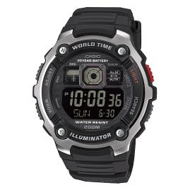 Casio AE-2000W-1BVEF Digitaluhr 20 Bar Wasserdicht