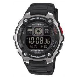 Casio AE-2000W-1BVEF Digital Watch 20 Bar Water Resistant