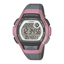 Casio LWS-2000H-4AVEF Digital Wristwatch for Ladies with Step Tracker