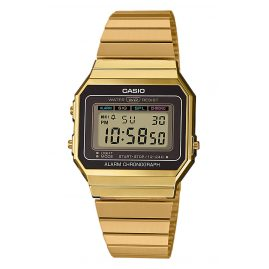 Casio A700WEG-9AEF Collection Damen-Armbanduhr