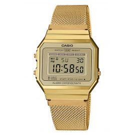Casio A700WEMG-9AEF Collection Damen-Digitaluhr