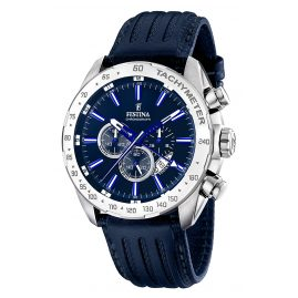 Festina F16489/B Mens Watch Dual Time Chronograph