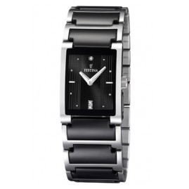 Festina F16536/2 Keramik Damen-Armbanduhr
