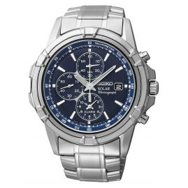 Seiko SSC141P1 Sports Alarm Chronograph Solar Watch