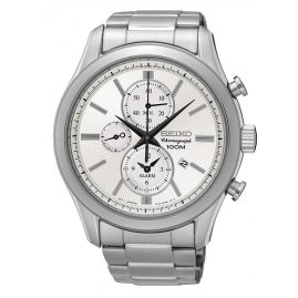Seiko SNAF63P1 Mens Watch Alarm Chronograph
