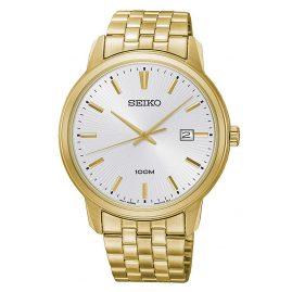 Seiko SUR264P1 Herren-Armbanduhr Quarz Goldfarben