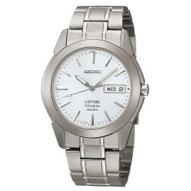 Seiko SGG727P1 Quartz Titan Mens Watch