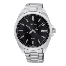 Seiko SUR277P1 Men's Wristwatch Quartz Water Resistant 10 bar