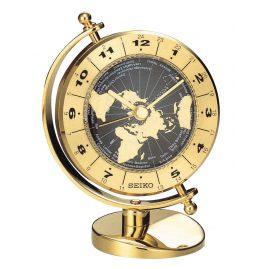 Seiko QHG106G Table Clock Globe