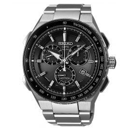 Seiko SSE129J1 Astron GPS Solar Titan Chronograph Herrenuhr