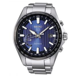Seiko SSE159J1 Astron GPS Solar World Time Mens Watch
