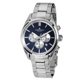 Jacques Lemans 42-6F Herren-Armbanduhr Chronograph Classic