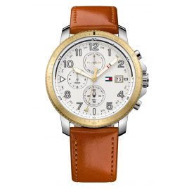 Tommy Hilfiger 1791363 Dual-Time Herrenuhr Travis