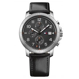 Tommy Hilfiger 1791364 Dual-Time Herrenarmbanduhr Travis