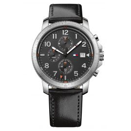 Tommy Hilfiger 1791364 Dual-Time Mens Wrist Watch Travis