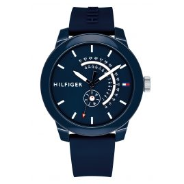 Tommy Hilfiger 1791482 Herrenuhr mit Multifunktion Denim