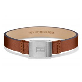 Tommy Hilfiger 2700949 Mens Leather Bracelet Casual Brown
