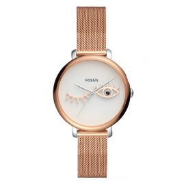 Fossil ES4414 Damen-Armbanduhr Jacqueline Wink Eye