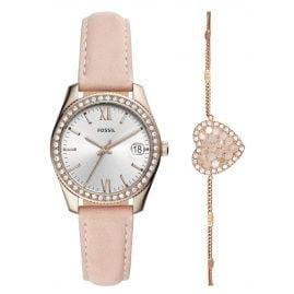 Fossil ES4607SET Damenuhr-Set mit Armband Scarlette Mini