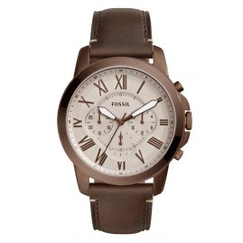Fossil FS5344 Mens Watch Grant Chronograph Brown