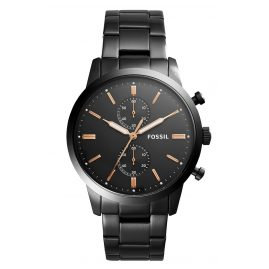 Fossil FS5379 Mens Watch Townsman Chronograph Black