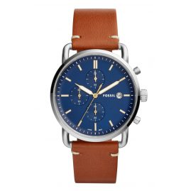 Fossil FS5401 Herrenuhr Chronograph The Commuter