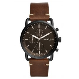 Fossil FS5403 Herrenuhr Chrono The Commuter