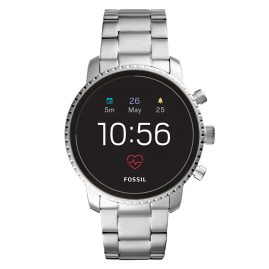 Fossil Q FTW4011 Herren-Smartwatch Explorist HR Gen 4