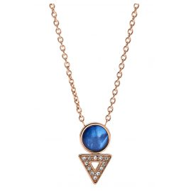 Fossil JF03013791 Ladies' Necklace Geometric Rose